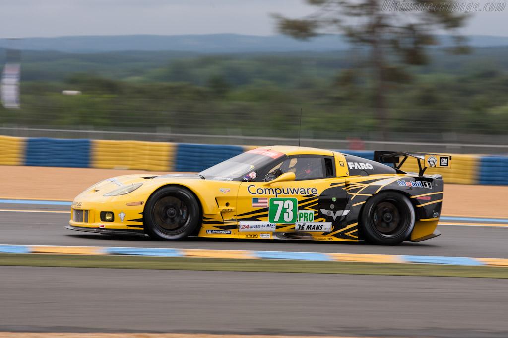 Chevrolet Corvette C6.R GT2    - 2012 Le Mans Test