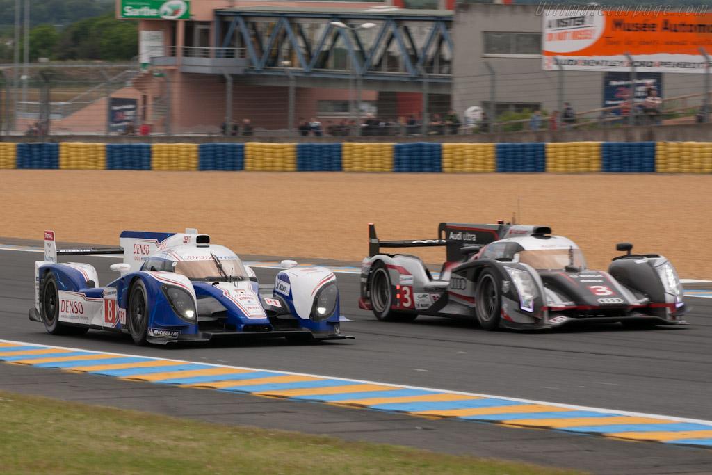 Toyota TS030 Hybrid    - 2012 Le Mans Test