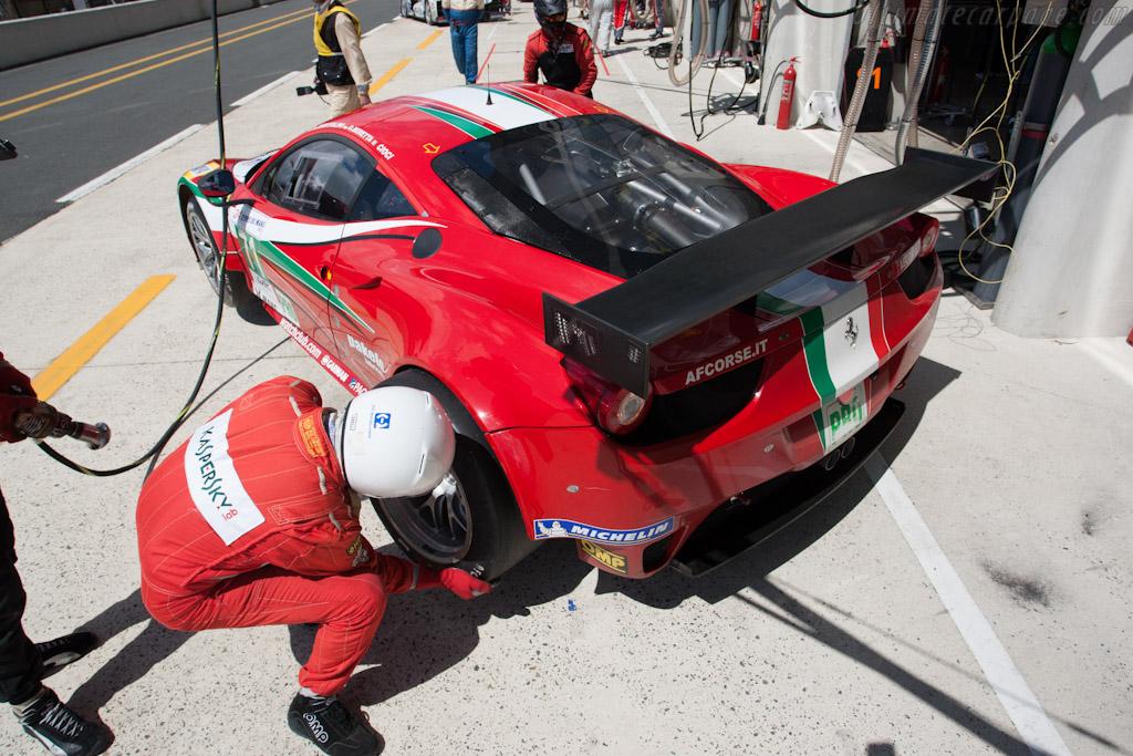 AF Corse Ferrari - Chassis: 2848   - 2012 Le Mans Test