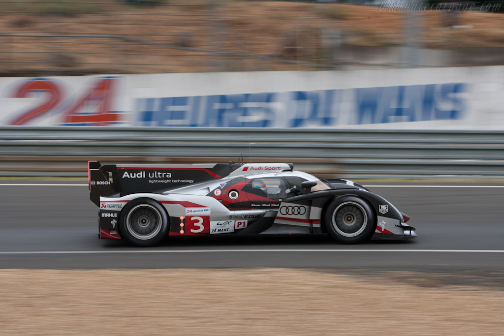 Audi R18 Ultra Chassis 207 2012 Le Mans Test