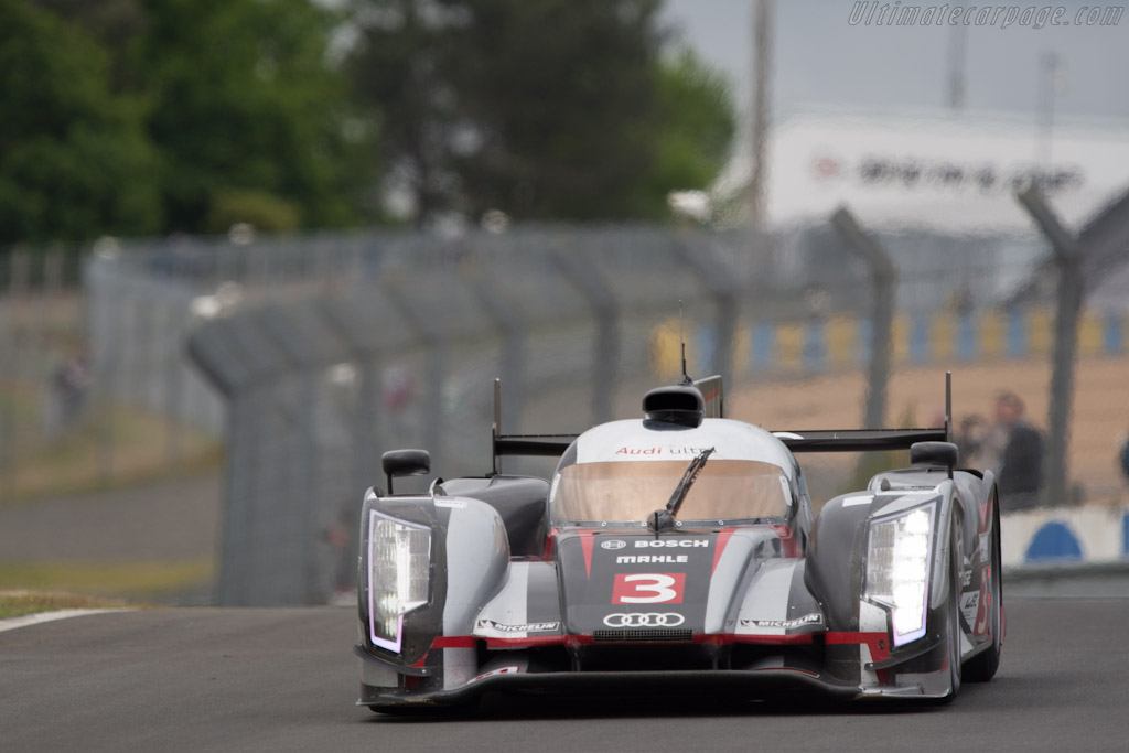 Audi R18 Ultra - Chassis: 207   - 2012 Le Mans Test