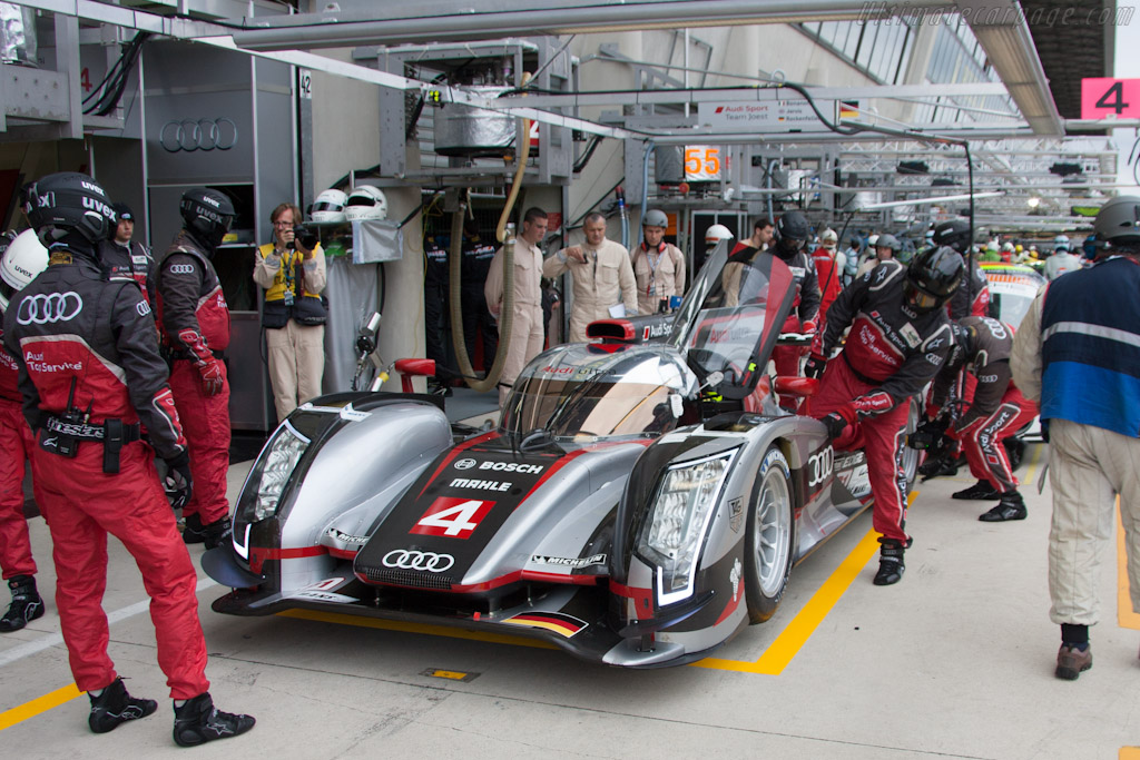 Audi R18 Ultra - Chassis: 205   - 2012 Le Mans Test