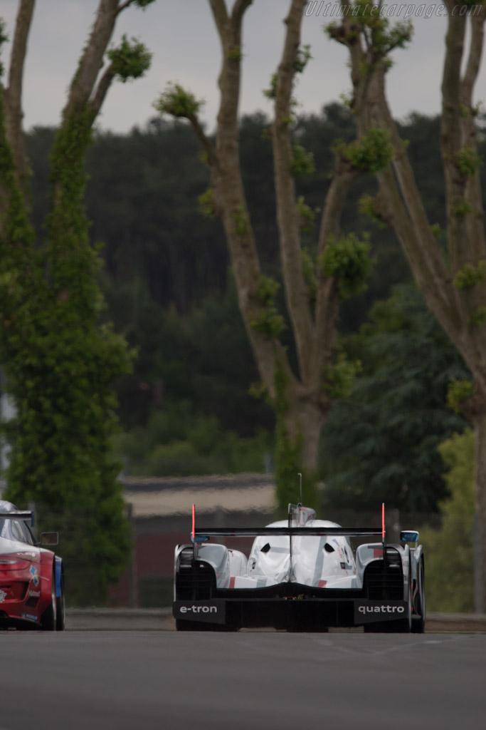 Audi R18 e-tron quattro - Chassis: 206   - 2012 Le Mans Test