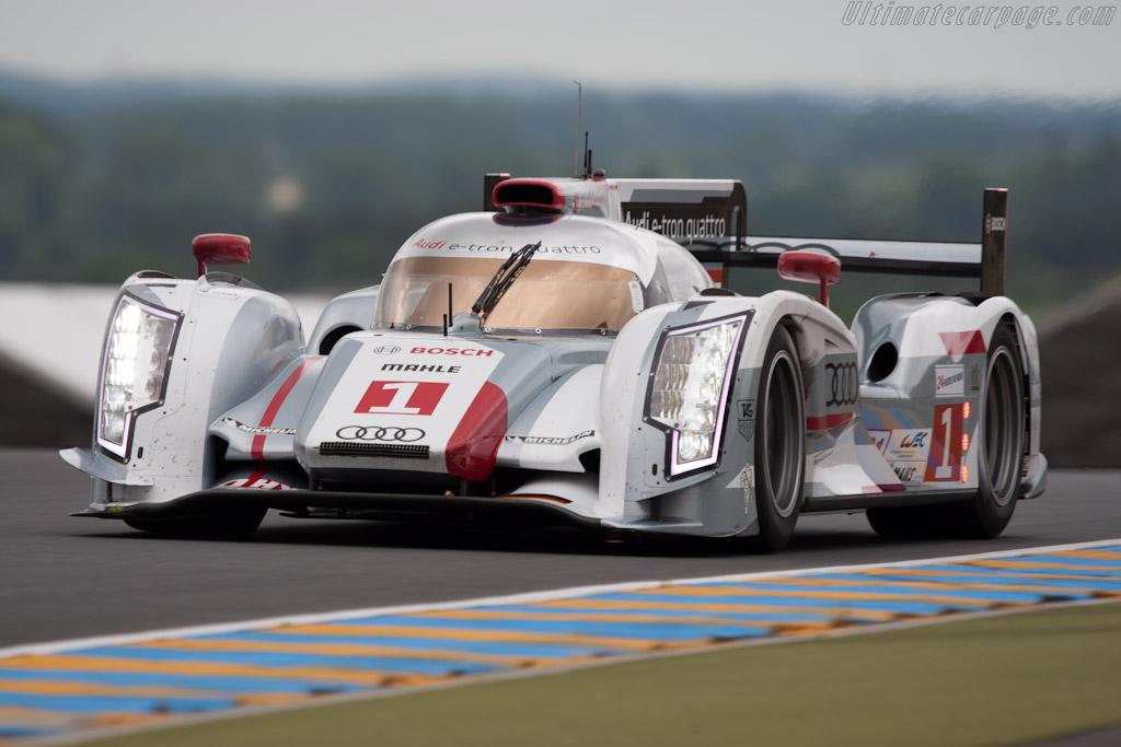 Audi R18 e-tron quattro - Chassis: 208   - 2012 Le Mans Test