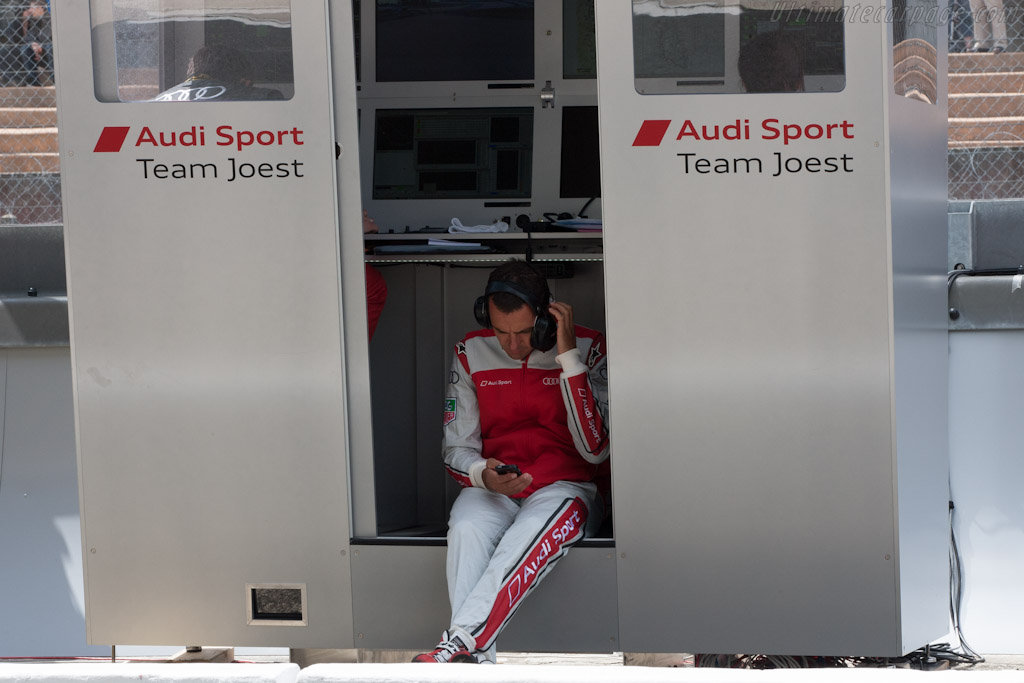 Benoit Treluyer    - 2012 Le Mans Test