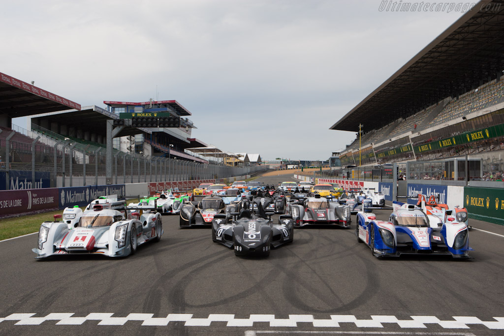 Class of 2012 - Chassis: DWLM12001   - 2012 Le Mans Test