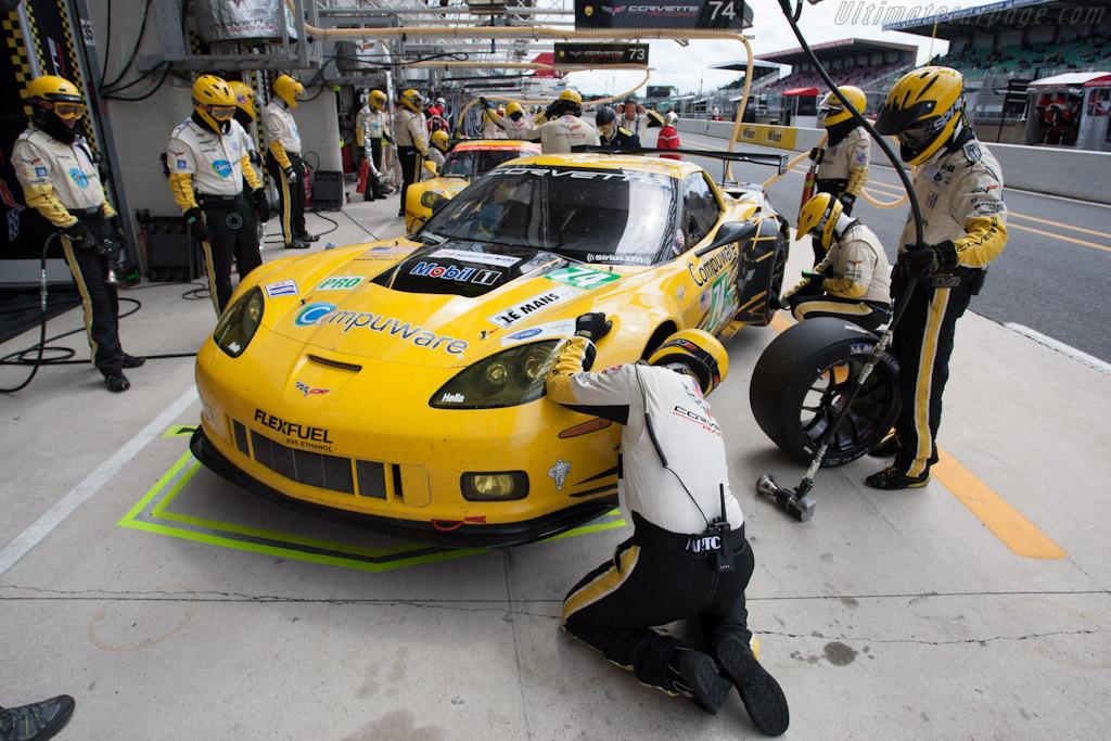 Corvette Racing - Chassis: 12-02   - 2012 Le Mans Test