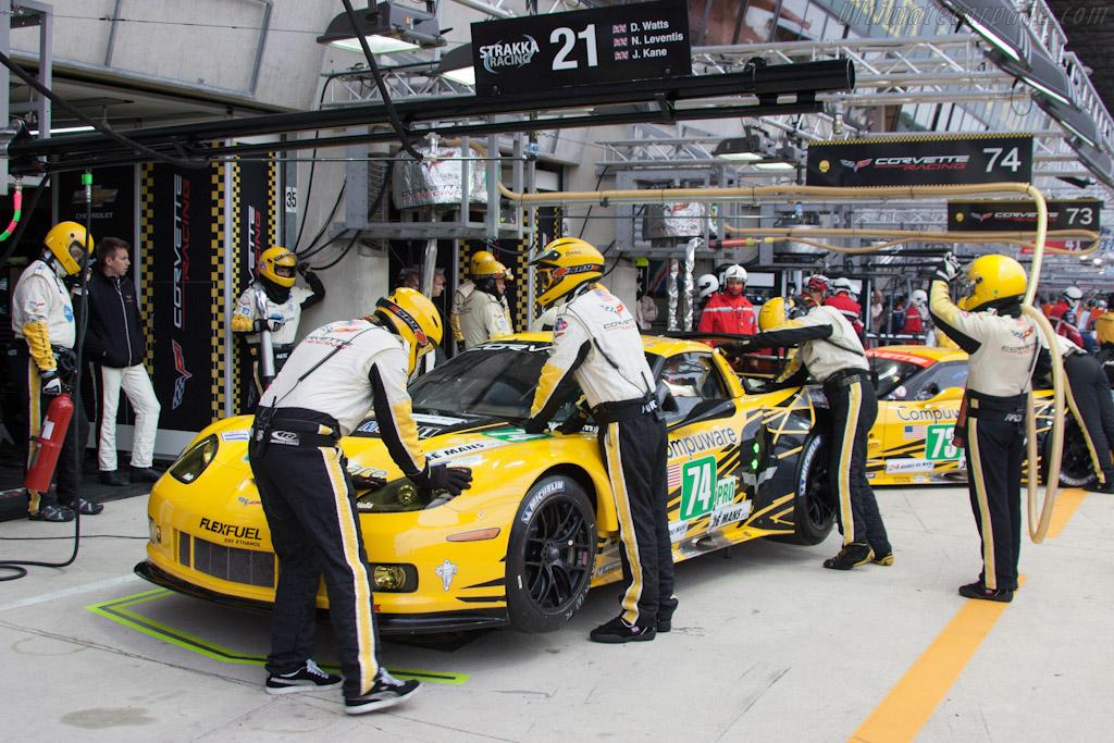 Corvette Racing - Chassis: C6GT-006   - 2012 Le Mans Test