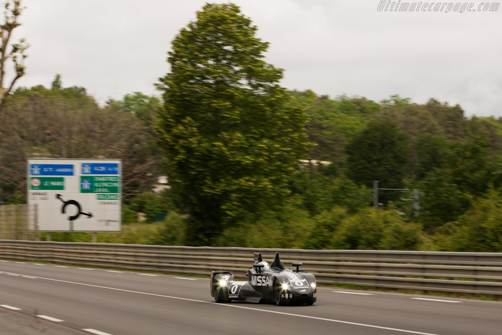 DeltaWing Nissan - Chassis: DWLM12001   - 2012 Le Mans Test
