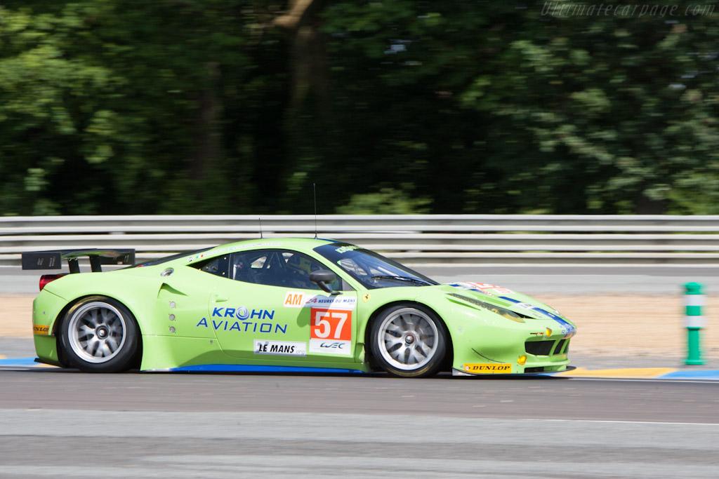 Ferrari 458 Italia GT2 - Chassis: 2844   - 2012 Le Mans Test