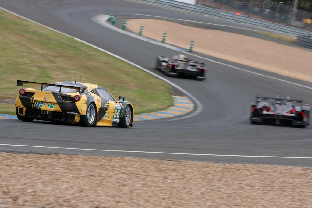 Ferrari 458 Italia GT2 - Chassis: 2808   - 2012 Le Mans Test