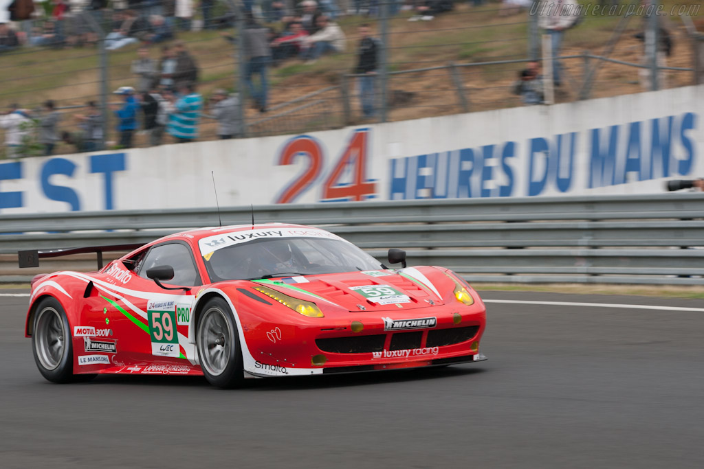 Ferrari 458 Italia GT2 - Chassis: 2832   - 2012 Le Mans Test