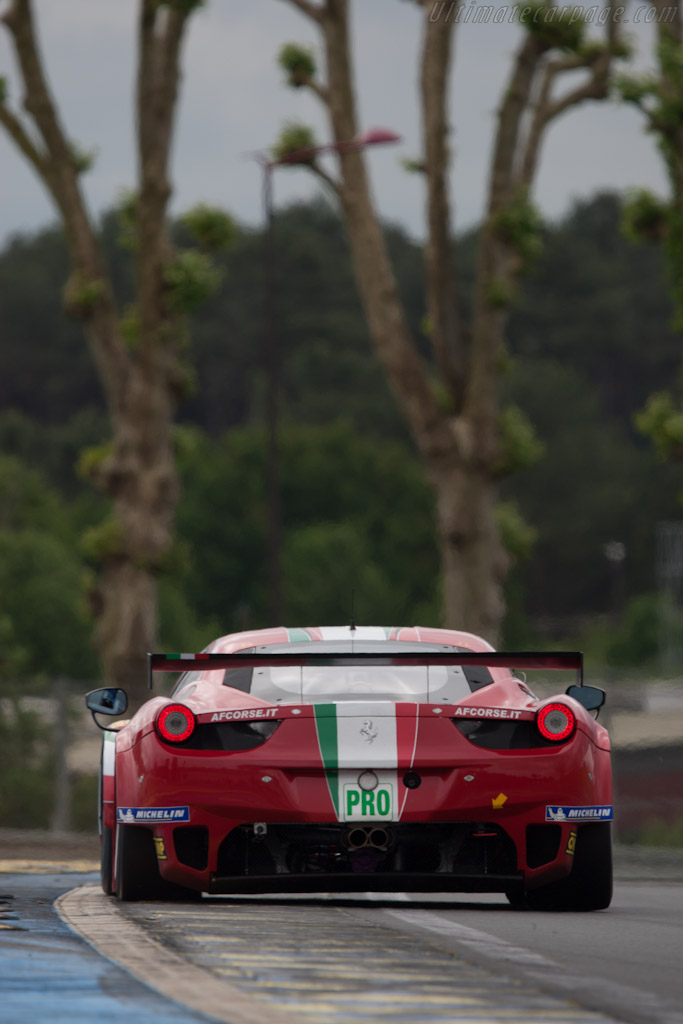 Ferrari 458 Italia GT2 - Chassis: 2822   - 2012 Le Mans Test