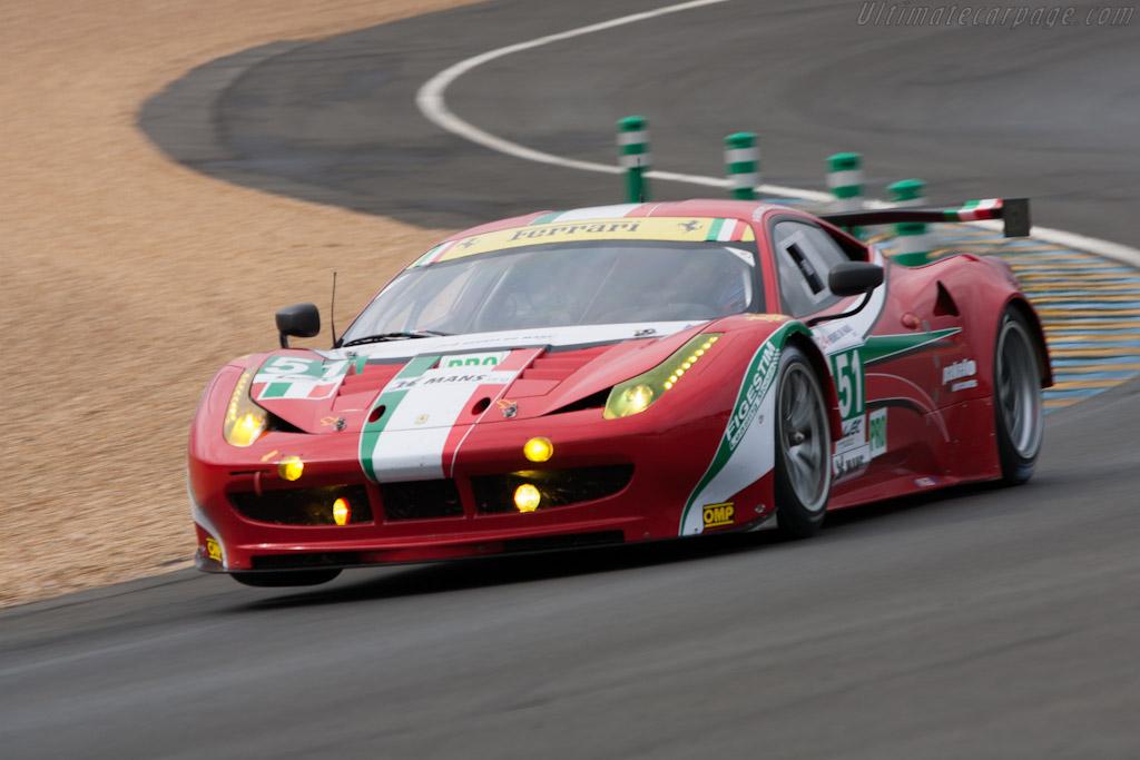 Ferrari 458 Italia GT2 - Chassis: 2856   - 2012 Le Mans Test