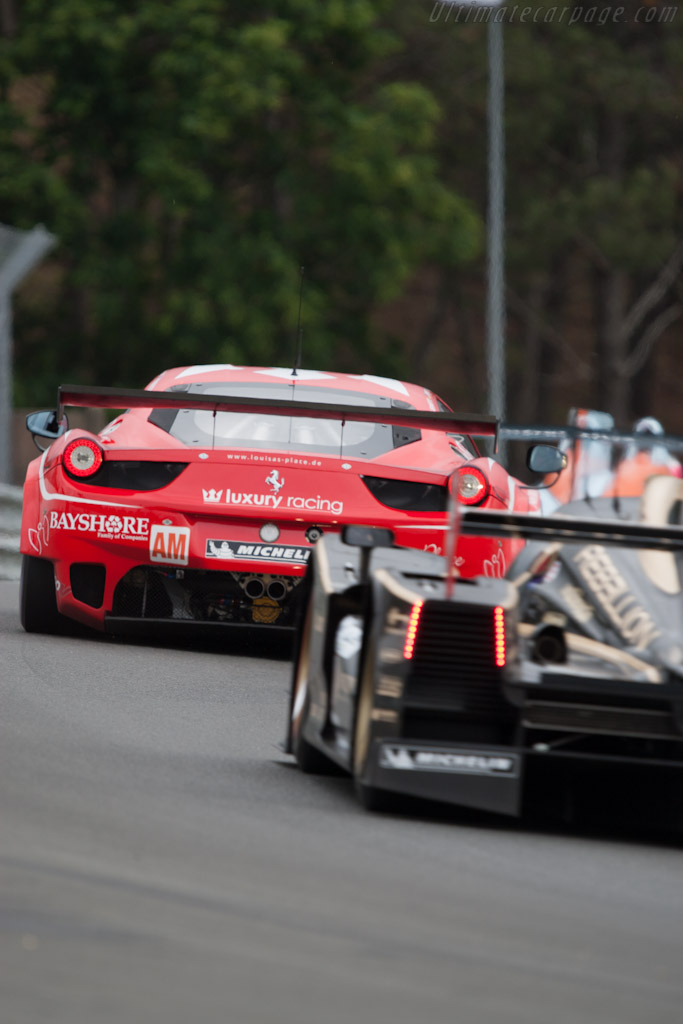 Ferrari 458 Italia GT2 - Chassis: 2834   - 2012 Le Mans Test