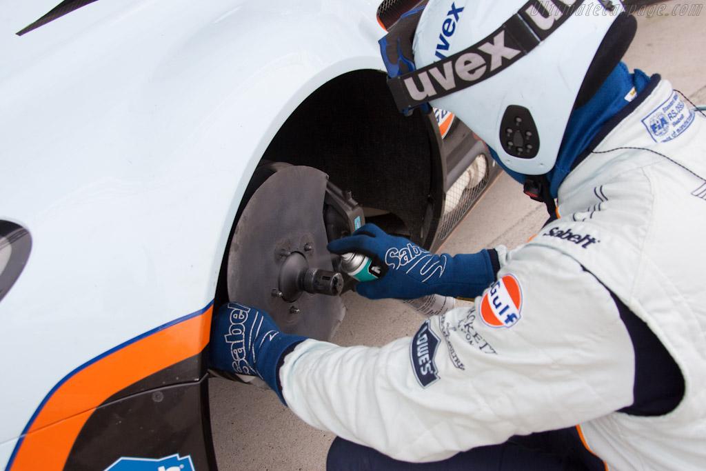 Final preparations    - 2012 Le Mans Test