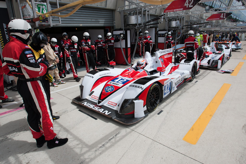 Greaves Motorsport - Chassis: Z11SN-07   - 2012 Le Mans Test