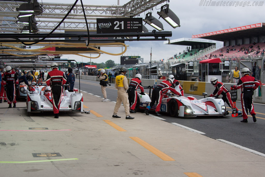 Greaves Motorsport - Chassis: Z11SN-09   - 2012 Le Mans Test
