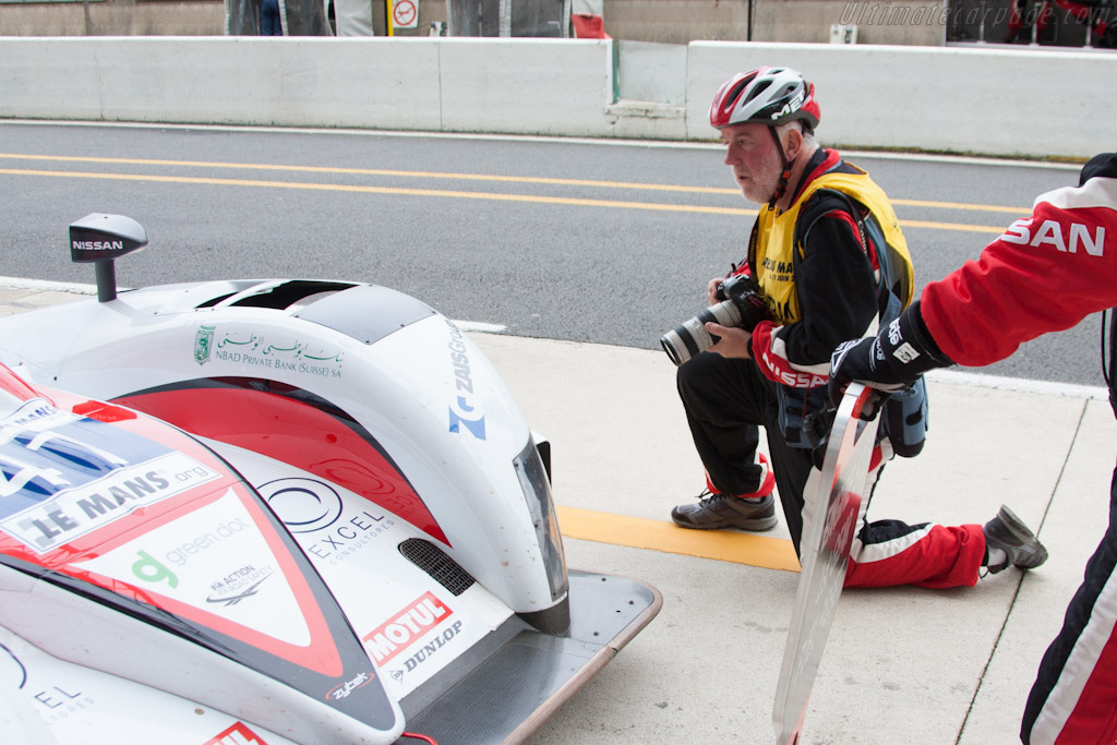 Helmets now mandatory in the pitlane - Chassis: Z11SN-09   - 2012 Le Mans Test