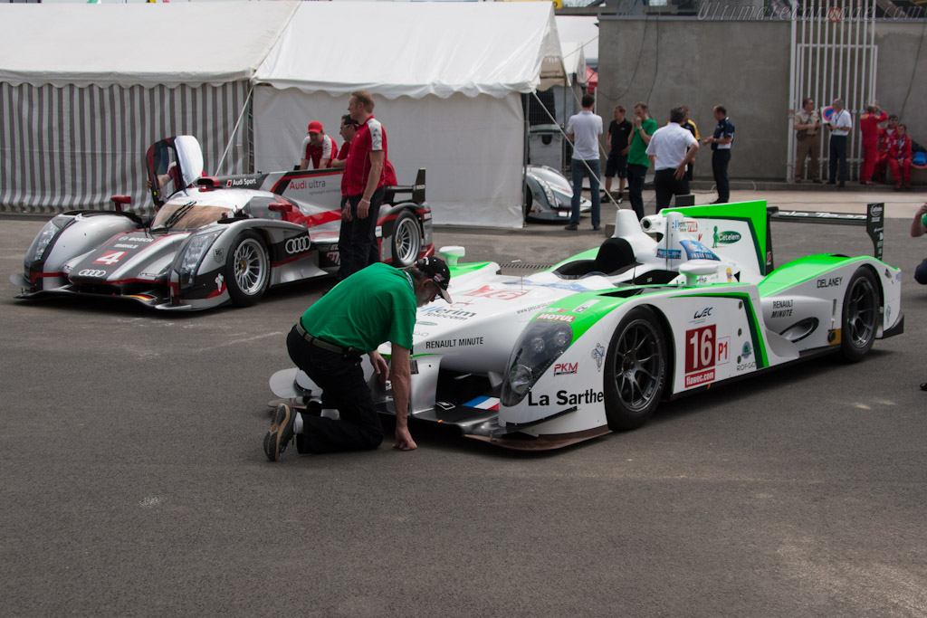 Henri and his new Pescarolo - Chassis: 01   - 2012 Le Mans Test