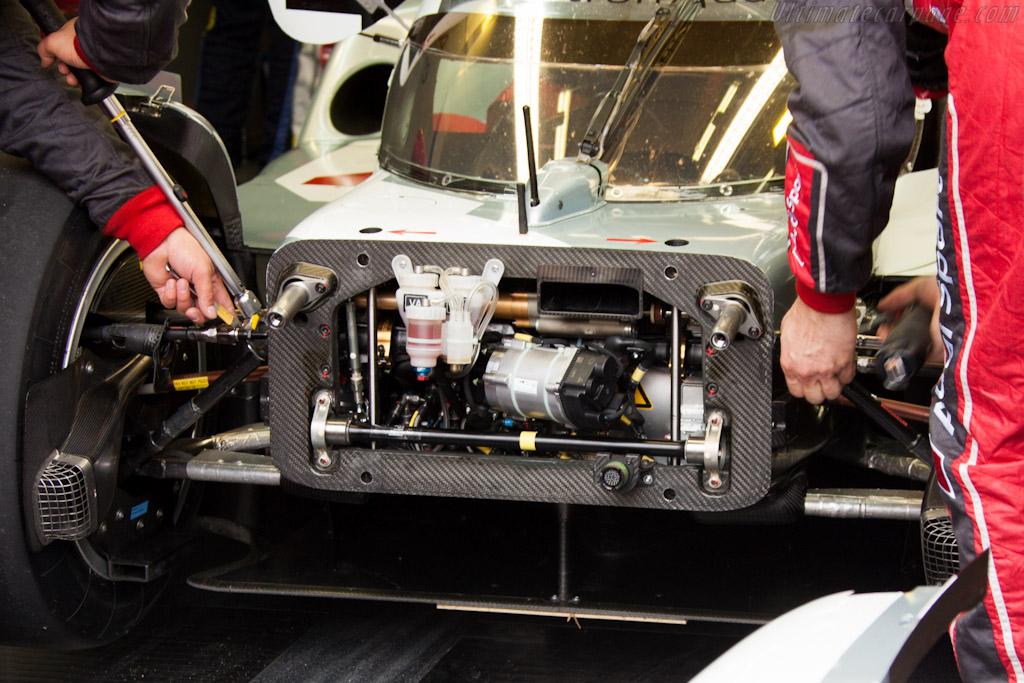 Hybrid Audi    - 2012 Le Mans Test