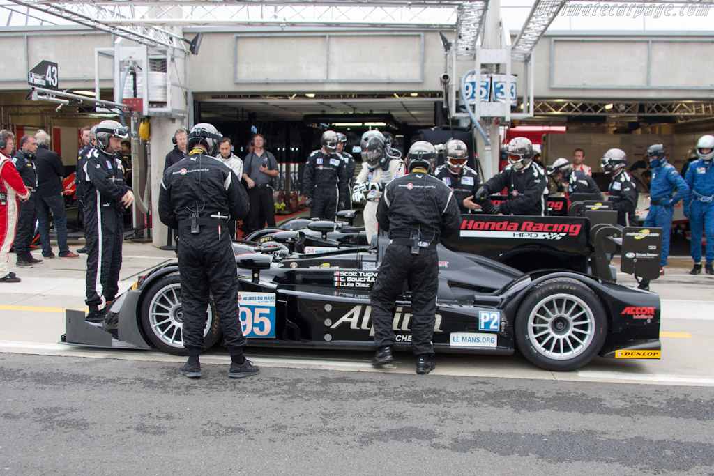 Level 5 Motorsport's HPDs - Chassis: 02   - 2012 Le Mans Test