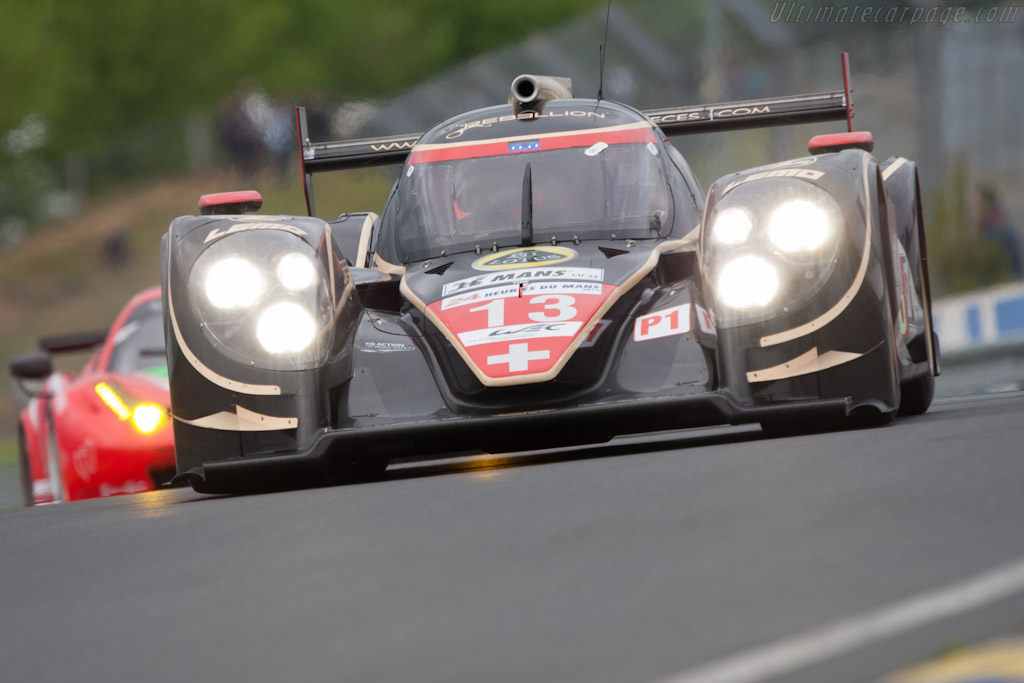 Lola B12/60 Toyota - Chassis: B0980-HU01S   - 2012 Le Mans Test