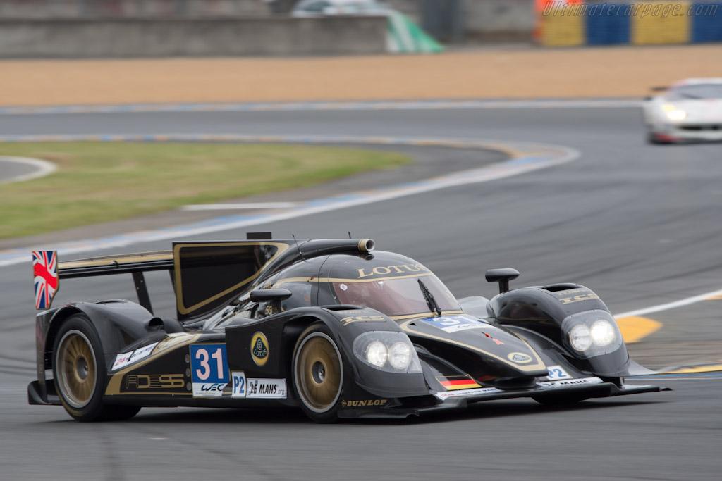 Lola B12/80 Judd - Chassis: B1280-HU04   - 2012 Le Mans Test