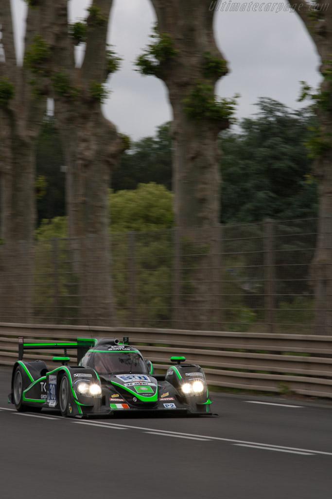 Lola B12/80 Judd - Chassis: B1280-HU06   - 2012 Le Mans Test