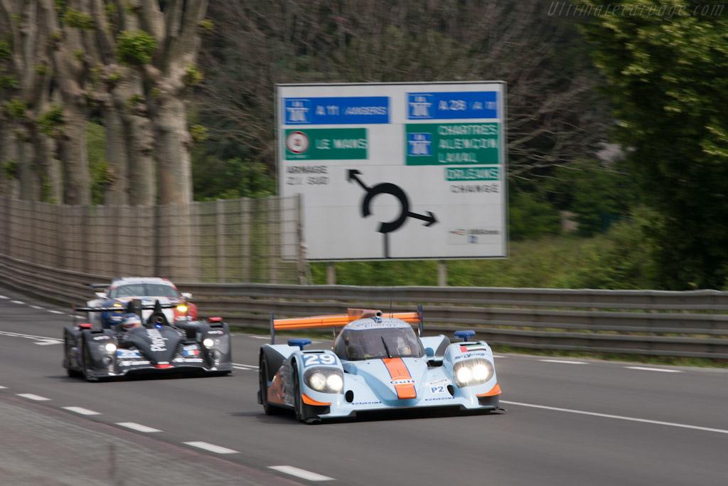 Lola B12/80 Nissan - Chassis: B1280-HU02  - 2012 Le Mans Test