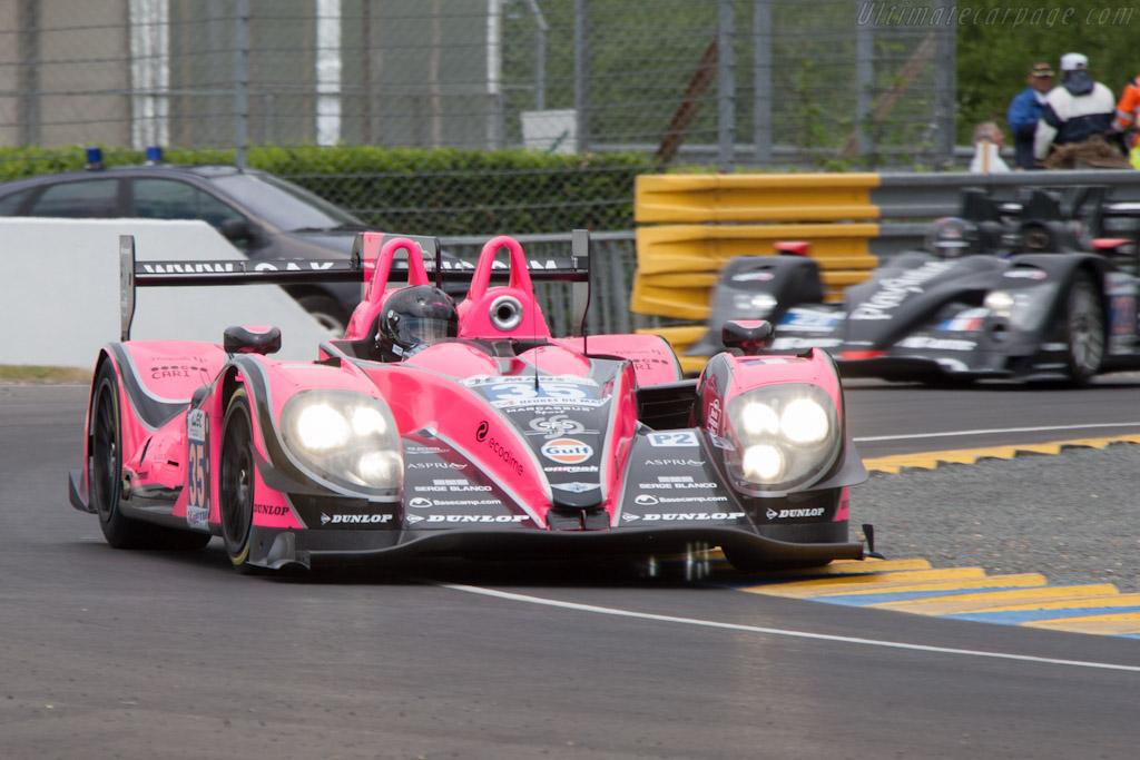 Morgan LMP Nissan - Chassis: 01-15   - 2012 Le Mans Test