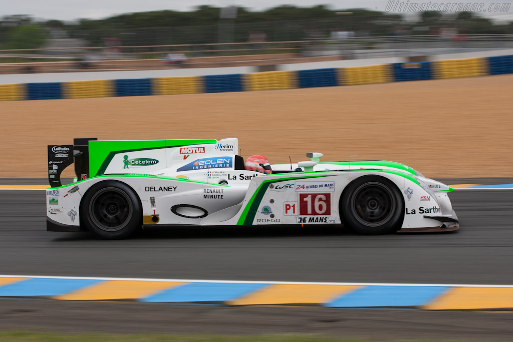 Pescarolo 03 Judd - Chassis: 01   - 2012 Le Mans Test