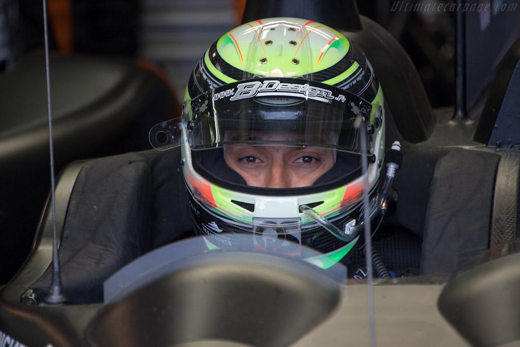 Pierre Ragues    - 2012 Le Mans Test