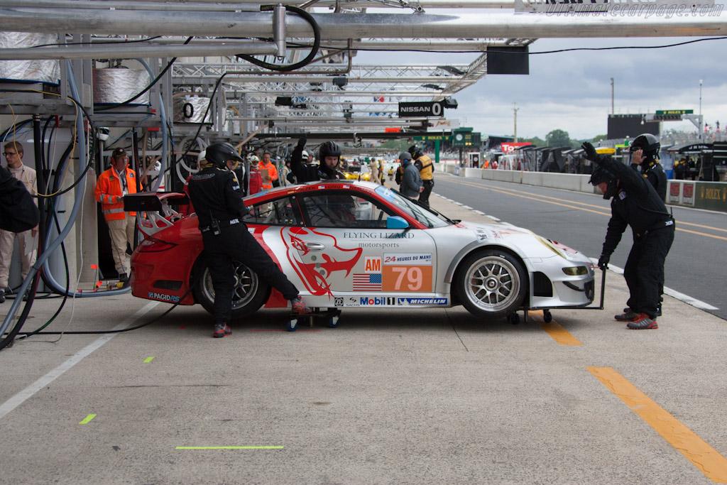 Porsche 997 GT3 RSR - Chassis: WP0ZZZ99ZCS799913   - 2012 Le Mans Test