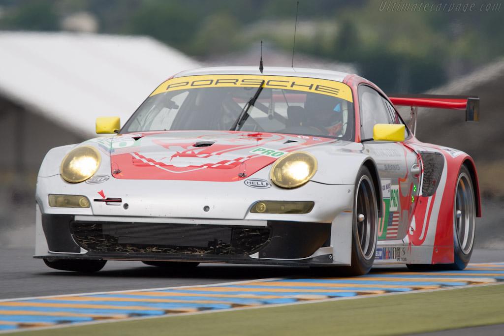 Porsche 997 GT3 RSR - Chassis: WP0ZZZ99ZCS799912   - 2012 Le Mans Test