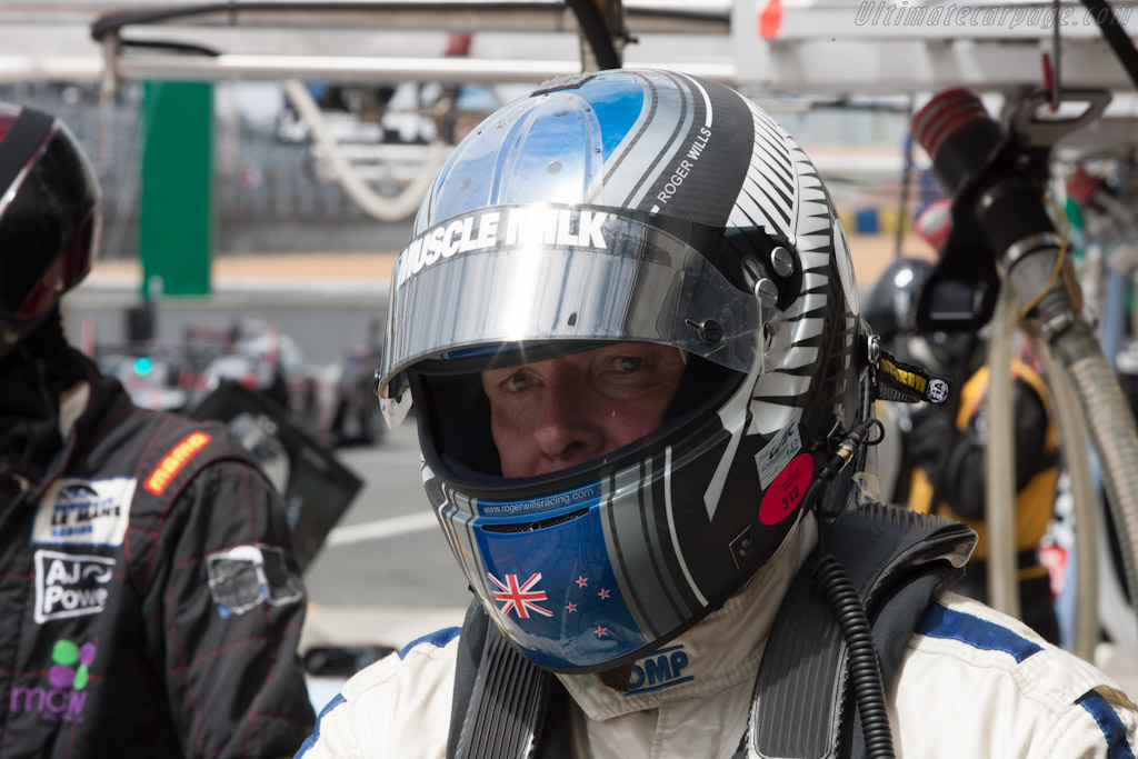 Roger Wills - Chassis: 2808   - 2012 Le Mans Test