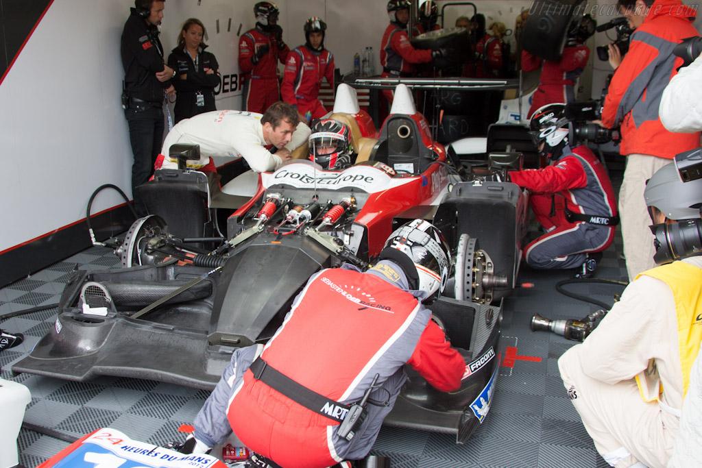 Sebastien Loeb Racing Oreca - Chassis: 12   - 2012 Le Mans Test