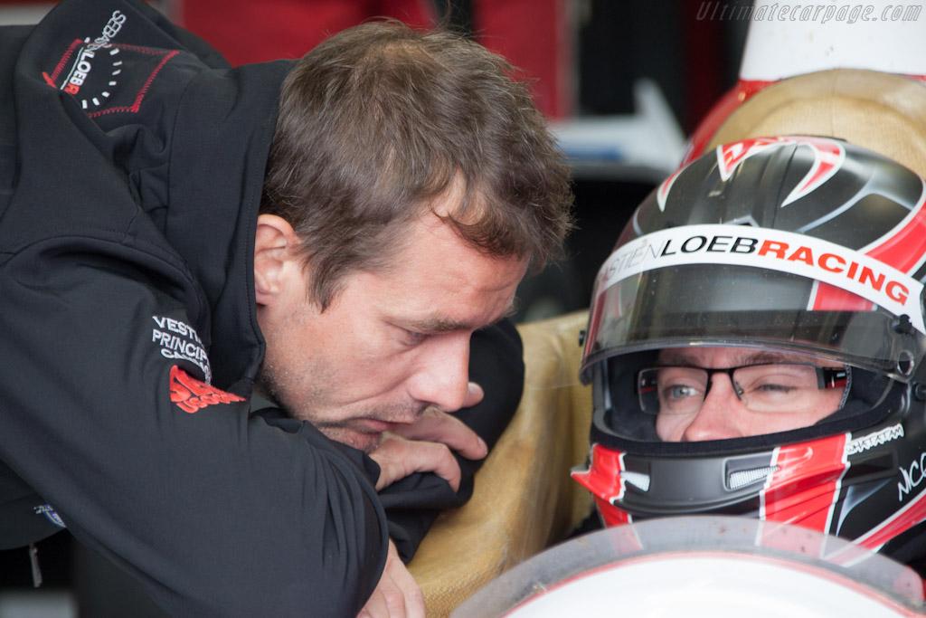 Sebastien Loeb and Nic Marroc   - 2012 Le Mans Test