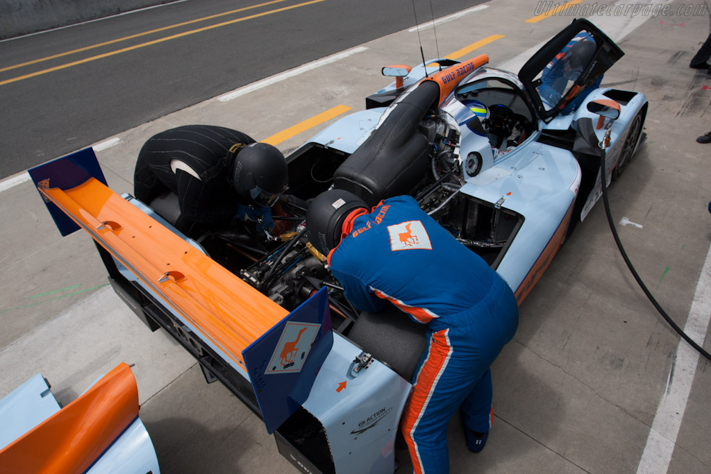 Suspension tweaks - Chassis: B1280-HU01   - 2012 Le Mans Test