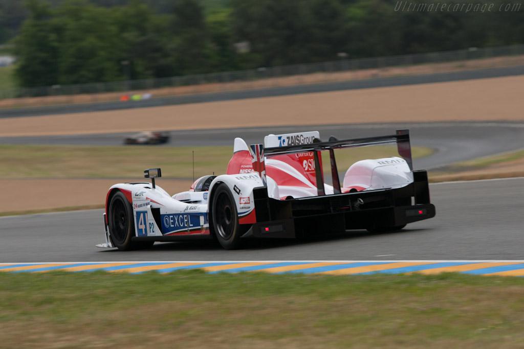 Zytek Z11SN Nissan - Chassis: Z11SN-09   - 2012 Le Mans Test