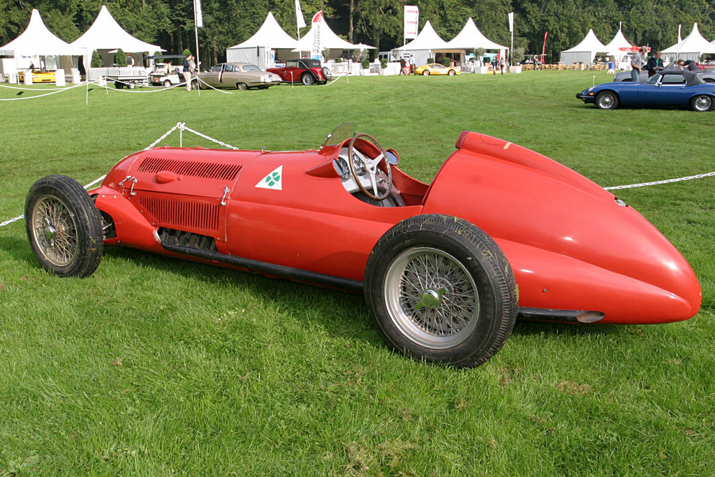 Alfa Romeo 312    - 2006 Concours d'Elegance Paleis 't Loo
