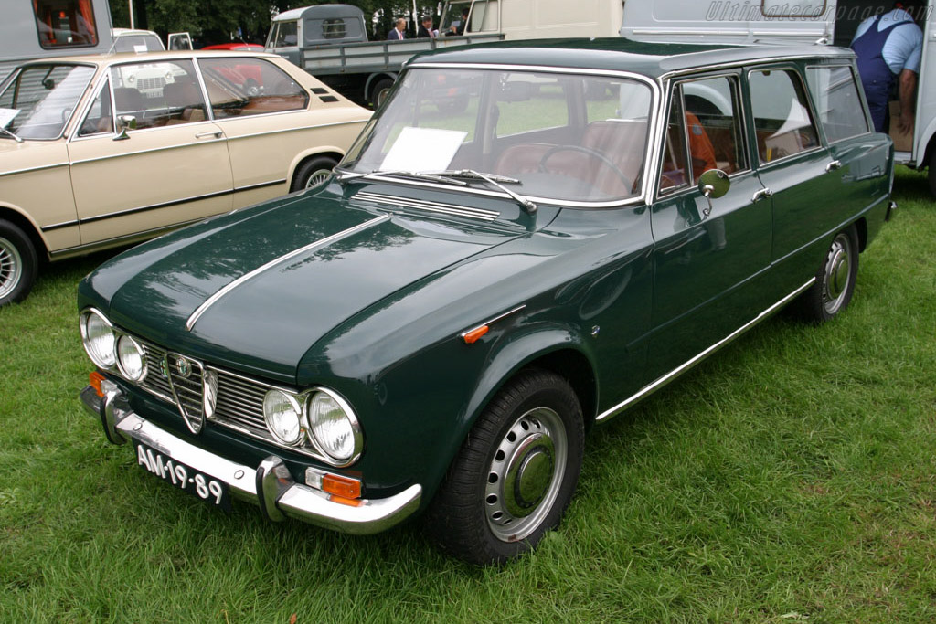 Alfa Romeo Colli Wagon    - 2006 Concours d'Elegance Paleis 't Loo