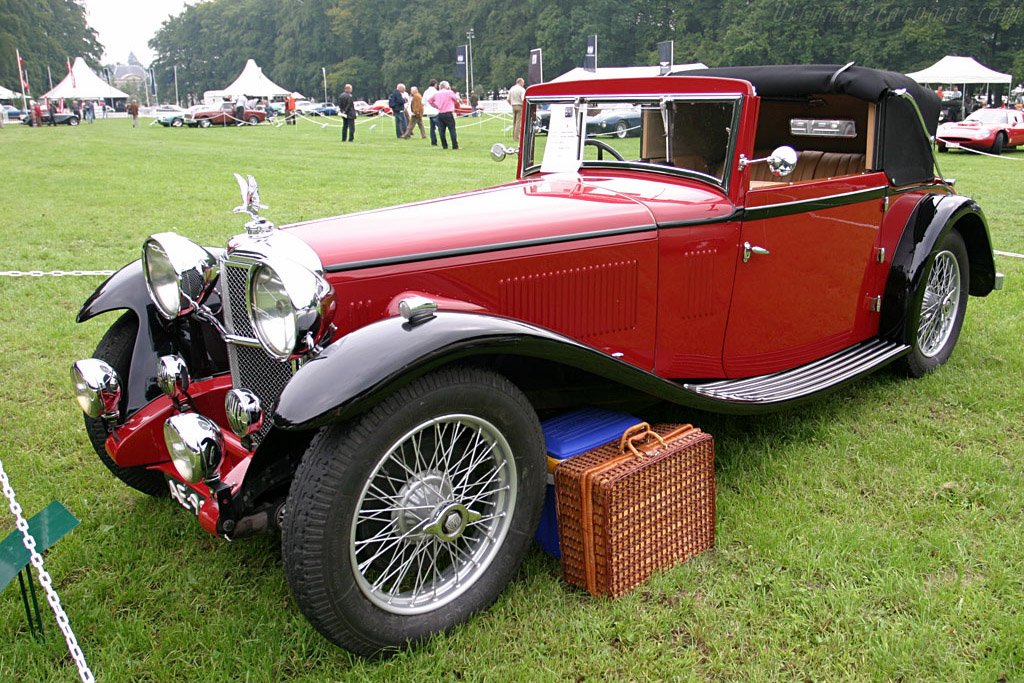 Alvis Speed 20 SA    - 2006 Concours d'Elegance Paleis 't Loo