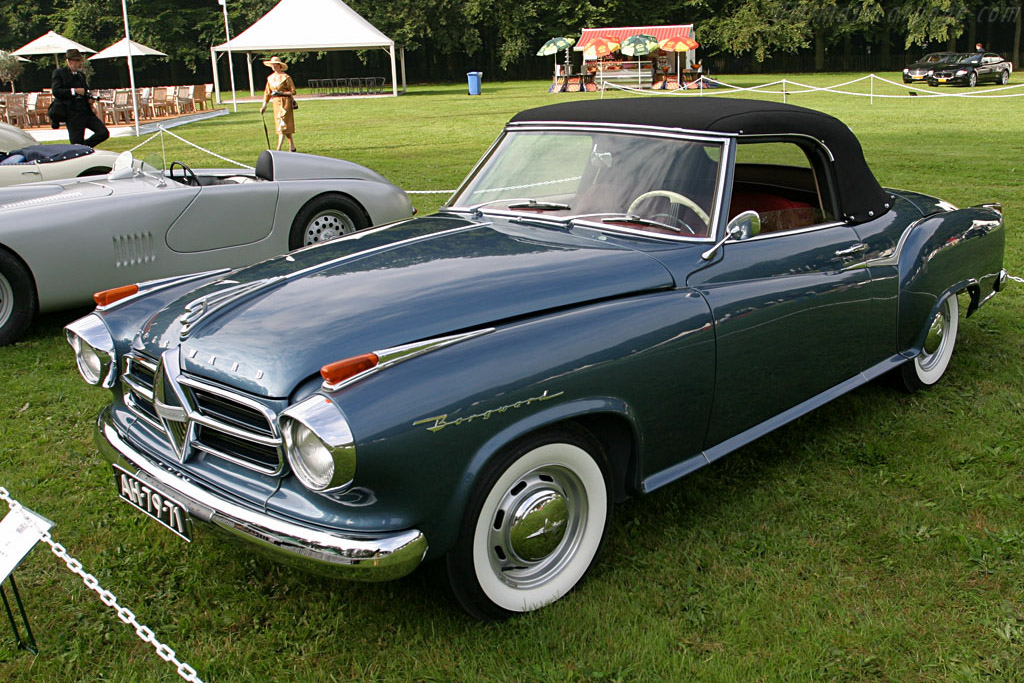 Borgward Isabella Cabriolet    - 2006 Concours d'Elegance Paleis 't Loo