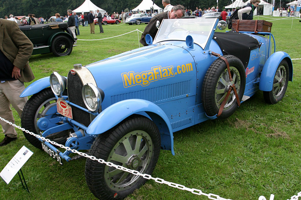 Bugatti Type 43    - 2006 Concours d'Elegance Paleis 't Loo