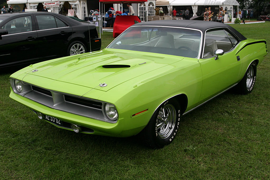 Plymouth Barracuda    - 2006 Concours d'Elegance Paleis 't Loo