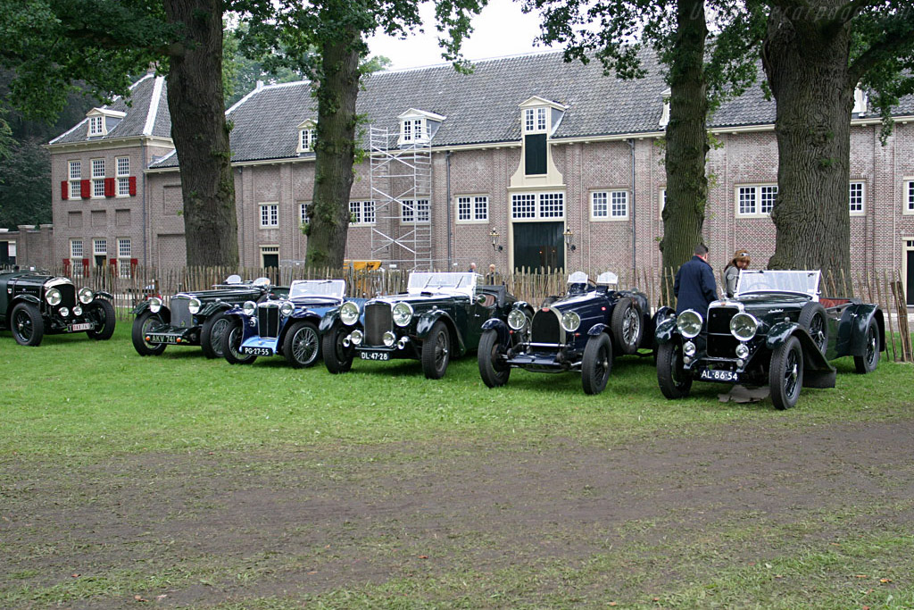 Ready for the Rallye Sprint    - 2006 Concours d'Elegance Paleis 't Loo