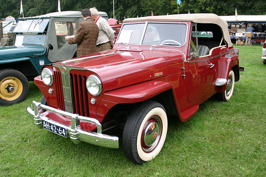 Willys Jeepster    - 2006 Concours d'Elegance Paleis 't Loo