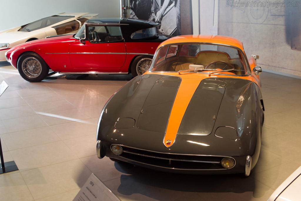 Abarth 209A Boano Coupe - Chassis: 006   - The Louwman Museum