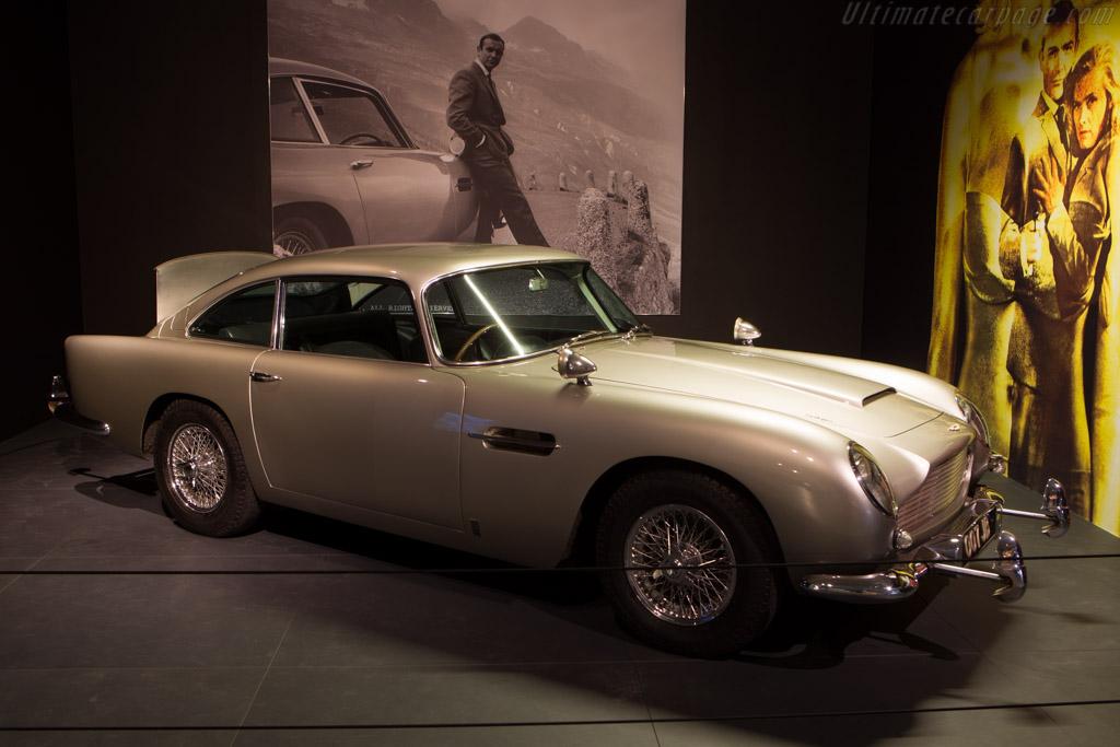 Aston Martin DB5    - The Louwman Museum
